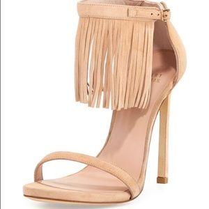 Stuart Weitzman LOVEFRINGE fringe sandal